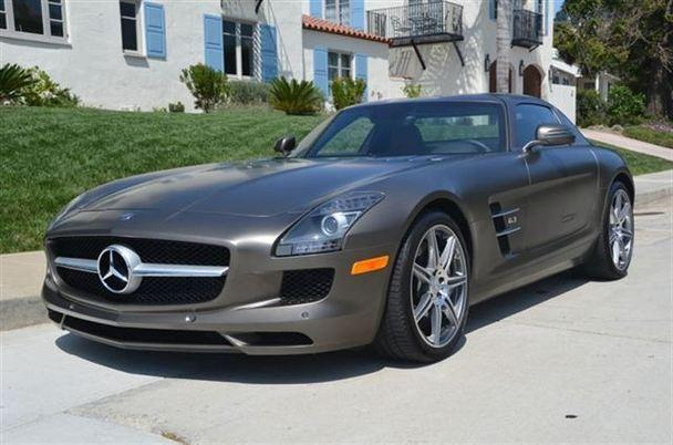 Mercedes benz sls amg for sale in san diego california for Mercedes benz san diego