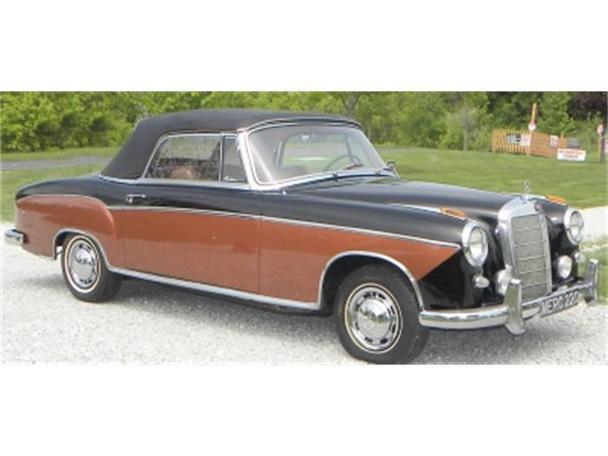 Mercedes benz 220 1959 1959 mercedes benz 220 model for Mercedes benz financial credit score