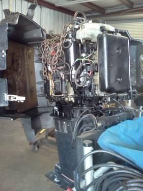 Mercury 150 175 200 hp xr2 25 inch outboard lower unit for Mercury outboard motors for sale in florida