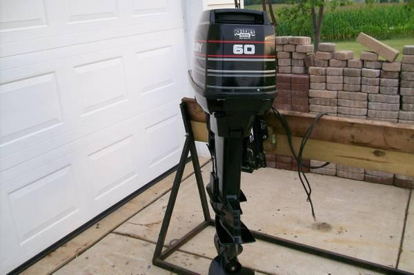 Mercury 60 hp outboard motor for sale in richfield for Outboard motors for sale in wisconsin