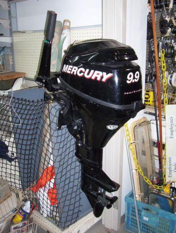 MERCURY 9.9 HP 4 STROKE OUTBOARD MOTOR MODEL  1F10201FK