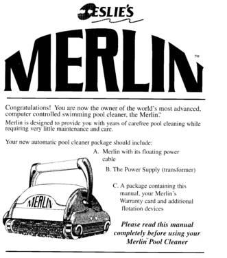 Merlin Pool Cleaner