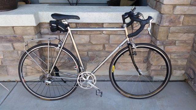 Merlin Titanium Road Bike Xl Frame 61 Cm Ultralight