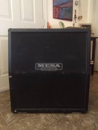 Mesa 4x12 cab - $400