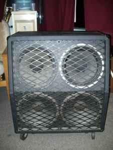 MESA BOOGIE 4X12 angled guitar cab - $195 Mechanicsville