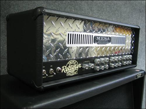 * Mesa Boogie Triple Rectifier 3 Head, Like NEW footswitch - $1099