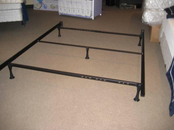 Metal bed frames all dimensions king queen full twin in for Queen size bed frames for sale