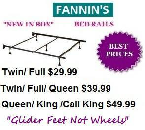 Metal Bed rails ► NEW