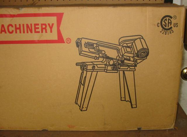 metal cutting band saw new in box