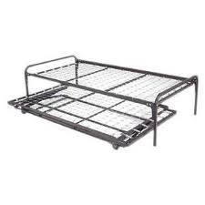 Metal Frame Trundle Bed