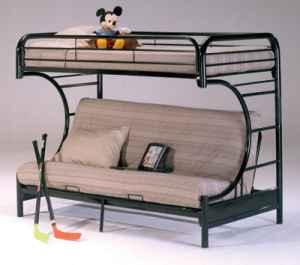 Metal Futon Bunk Bed Available