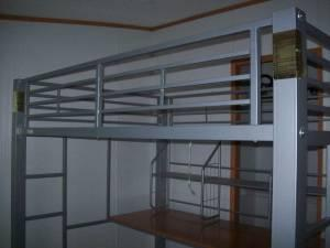 metal loft bed full size chillicothe for sale in chillicothe ohio classified. Black Bedroom Furniture Sets. Home Design Ideas