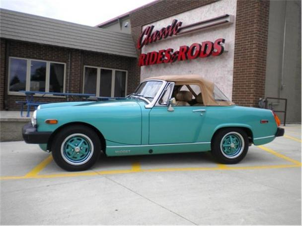 mg midget 1975 1975 mg midget classic car in annandale mn 4421537374 used cars on oodle. Black Bedroom Furniture Sets. Home Design Ideas