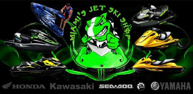 Miami's Jetski Shop PWC Dealer & Service Call