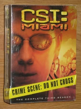 CSI: Miami Seasons 3-4-5