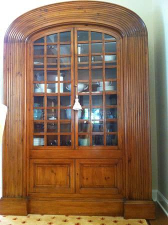Michael Kreiss Dining Room Armoire/China Cabinet - for Sale in Los ...