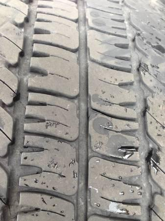 Michelin tires 285/55/20 - $120