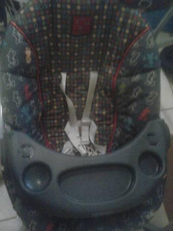mickey mouse set carseat stroller playpen swing matching - $350