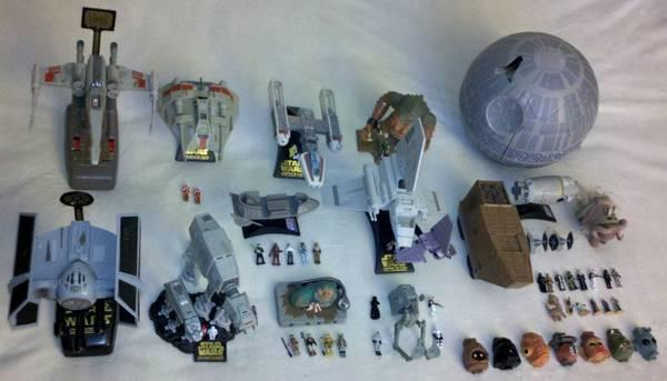 Walker Big Lot >> Micro Machines Star Wars Action Fleet Lot - for Sale in ...