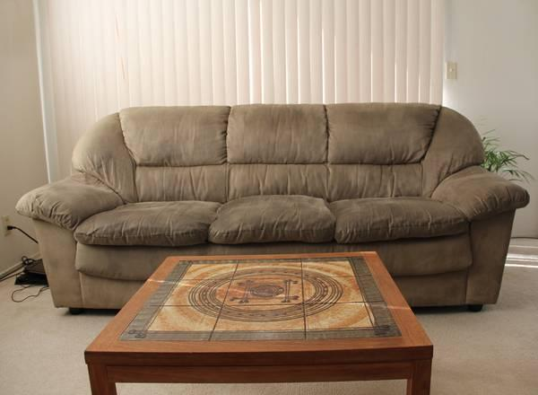 Microfiber Sofa Set For Sale In Redwood City California