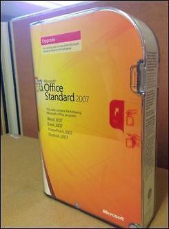 Microsoft Office Standard 2007 Upgrade