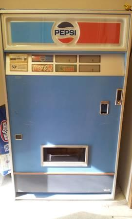 Mid 1970 S Pepsi Vending Machine For Sale In Orofino