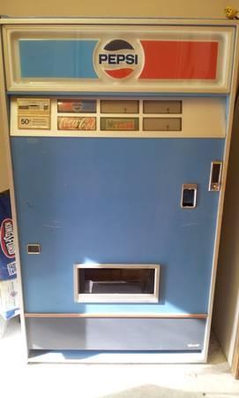 Mid 1970 S Pepsi Vending Machine For Sale In Orofino