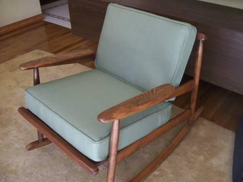 mid century danish modern rocking chair for sale in haddon heights