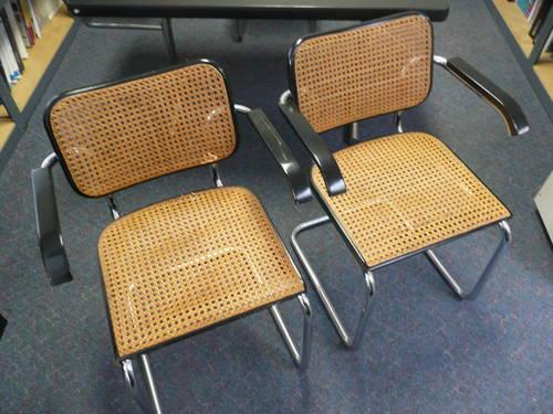 mid century - Four Gavina Marcel Breuer Cesca Chairs