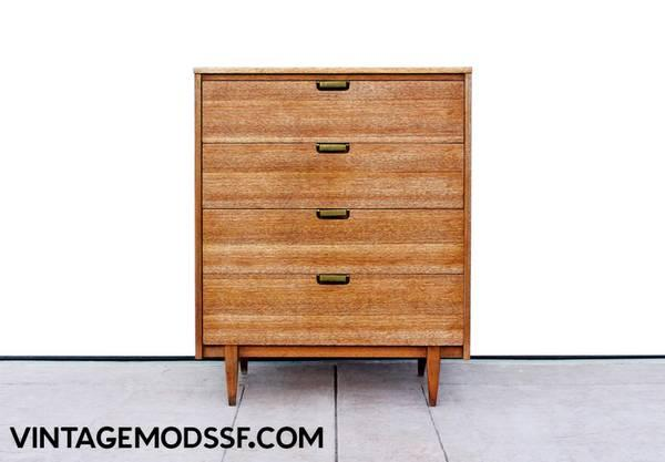 Mid century high dresser wardrobe danish style for sale for Mid century furniture san francisco