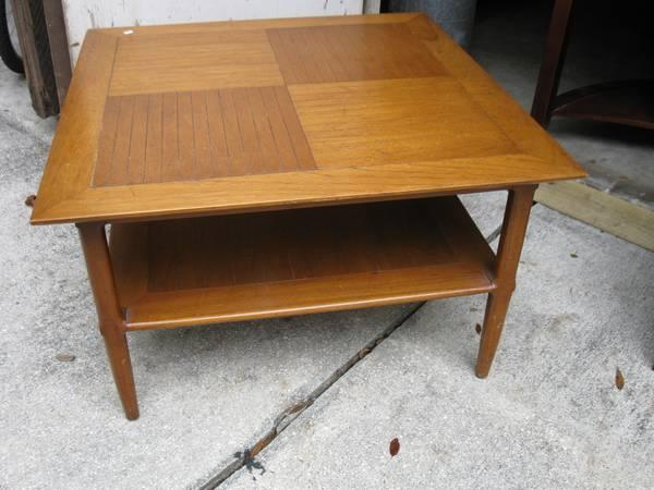 Mid century modern coffee table for sale in sarasota for Mid century furniture florida