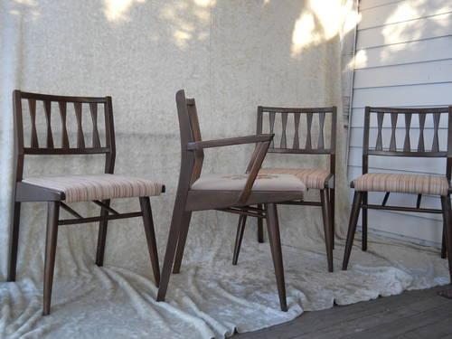 mid century modern dining chairs by holman for sale in minneapolis
