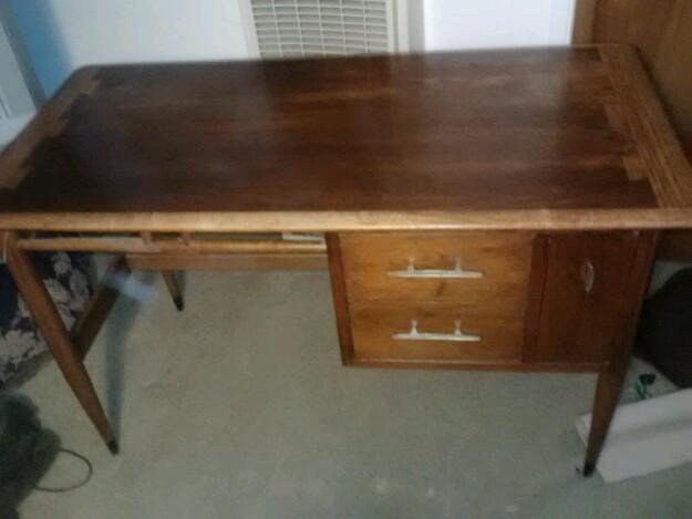 Mid Century Modern Lane Acclaim Writing Desk For Sale In