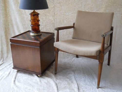 Mid Century Modern Stool Table By Lane For Sale In Minneapolis Minnesota Classified
