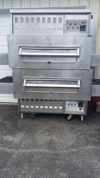 Middleby Marshall JS350 Pizza Ovens With HOOD Clean and work great
