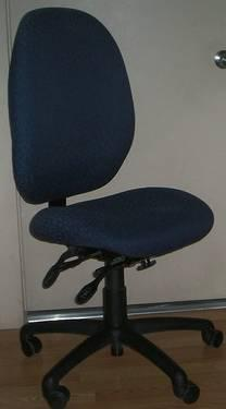 Midnight Blue Sewing/Writing Chair - $125
