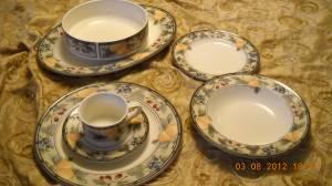 mikasa garden club floral dinnerware classifieds buy sell mikasa garden club floral dinnerware across the usa americanlisted - Mikasa Garden Harvest