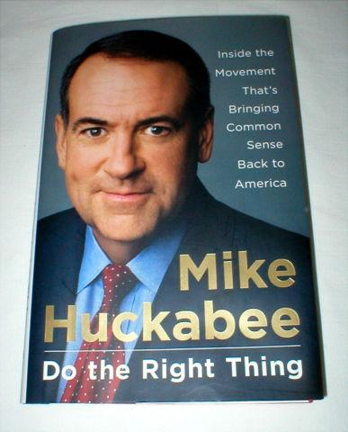 Mike Huckabee Book -