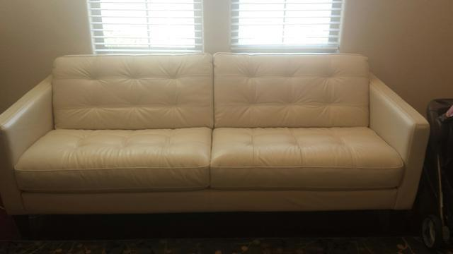 Milan 3 Piece Leather Sofa Amp 2 Chairs For Sale In