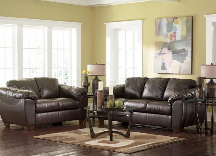 Millennium Collection Leather Sofa And Loveseat Combo