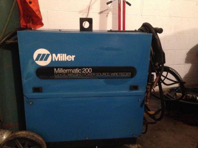 Miller Mig Welder For Sale >> Miller 200 Mig Welder For Sale In Elizabeth Pennsylvania Classified