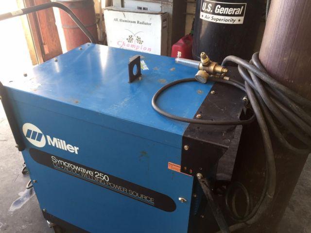 Miller Synchrowave 250 Tig Welder
