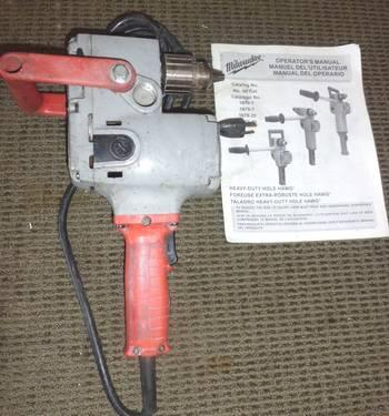 Milwaukee 1675-1 Hole Hawg Right Angle Drill Corded 1/2