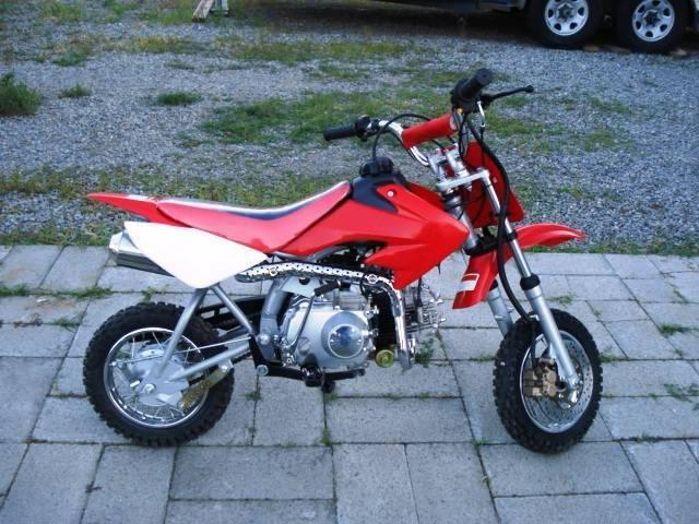 Mini-Bike 110cc Electric Start, 4 Spd Manual Clutch