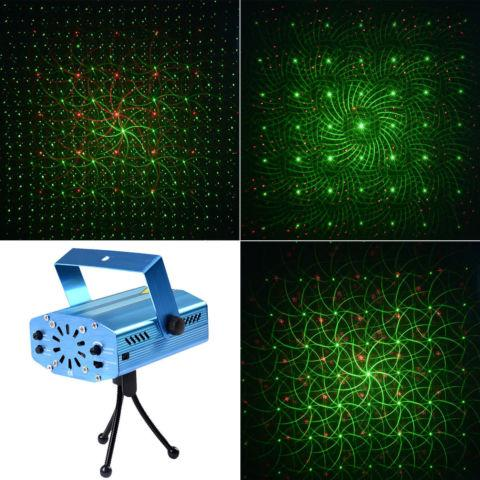 Mini LED R&G Laser Projector Stage Lighting Adjustment