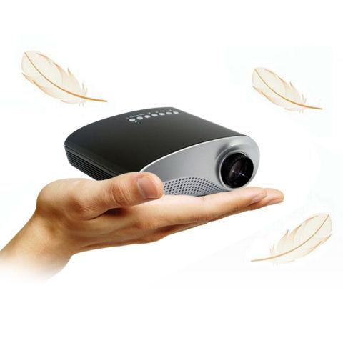 Mini Portable Home Cinema Theater LED Projector HD