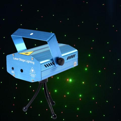 Mini Projector Laser Stage Lighting Show In DJ LED