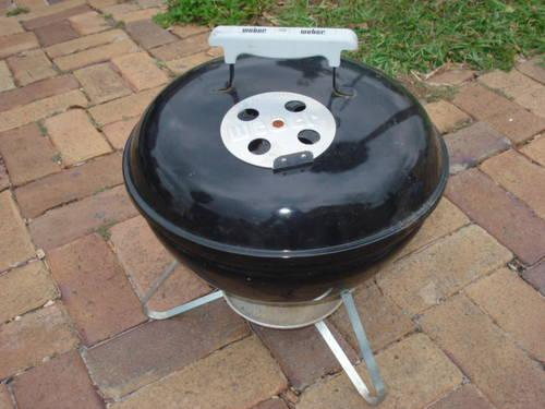 mini weber grill black color for sale in saint cloud florida classified. Black Bedroom Furniture Sets. Home Design Ideas