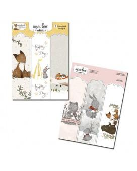 MiniLou-Woodland Whimsy Bookmark Set-Case Pack of 6