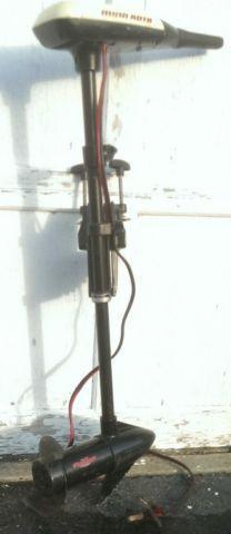 Minn kota turbo 40 27 lbs thrust trolling motor weedless for Minn kota 40 lb thrust trolling motor